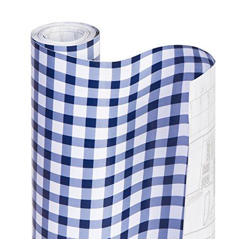Smart Design Shelf Liner W Decorative Adhesive Washable