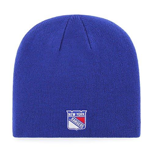 OTS Adult Men's NHL Beanie Knit Cap, Team Color, One Size (Nhl Knit Hat)