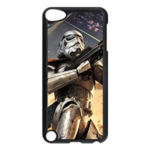 J-LV-F Customized Print Star Wars Pattern Hard Case for iPod Touch 5