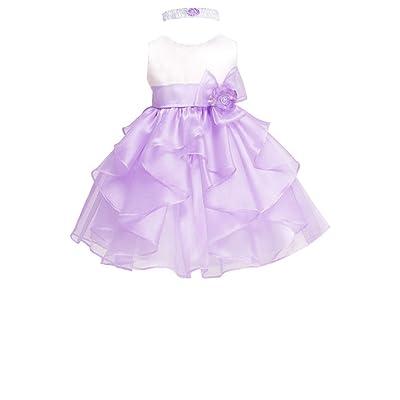27bdbc07a AMJ Dresses Inc Baby Girls' Lilac Flower Birthday Party Dress E1095 Sz XL