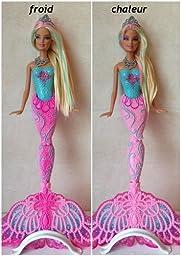 Barbie x9178 poup e sir ne couleurs jeux et jouets - Barbie sirene couleur ...