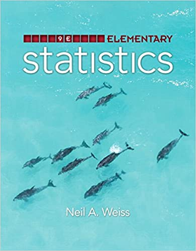 Amazon elementary statistics 9th edition 9780321989390 elementary statistics 9th edition 9th edition by neil a weiss fandeluxe Images