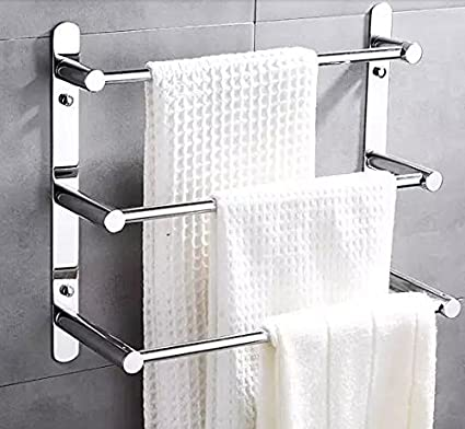 Modern towel rack Modern Chrome Image Unavailable Amazoncom Amazoncom 60cm Length 304 Stainless Steel Towel Ladder Modern