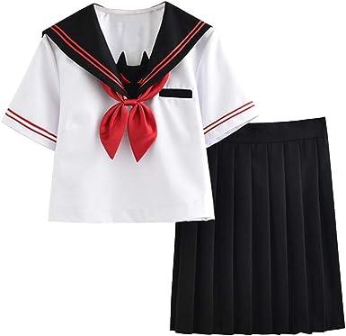 FENIKUSU - Disfraz de Uniforme de Colegiala Japonesa para ...