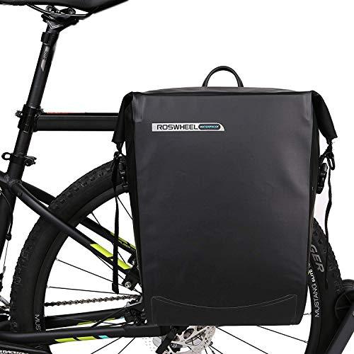 Beautylife168 Waterproof Bike Pannier Bag Rear Rack
