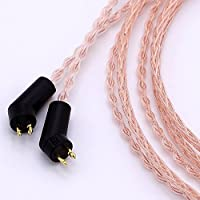 1.2m (4ft) 8 cores Litz braid For Etymotic ER4P ER4B ER4S HIFI cable 5N OCC Headphone Upgrade Cable