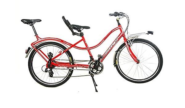 Bicicleta en tándem Compact SMP cambio con Shimano 21 V-tándem ...