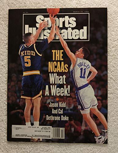 Jason Kidd - The California Golden Bears dethrone Duke - Sports Illustrated - March 29, 1993 - Bobby Hurley - College Basketball - SI