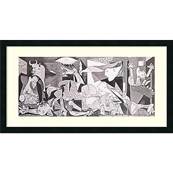 Amazon.com: Pablo Picasso Guernica Custom Framed Poster ...