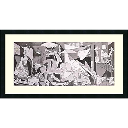Framed Art Print, 'Guernica, 1937' by Pablo Picasso: Outer Size 33 x 19