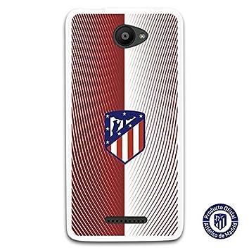 Atlético de Madrid Carcasa Oficial Escudo Sobre Fondo Retro ...