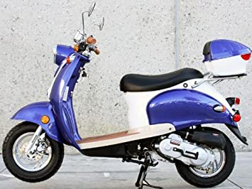 Amazon.com: SUNNY Powersports mc-jl5 Azul Bellini Gas ...