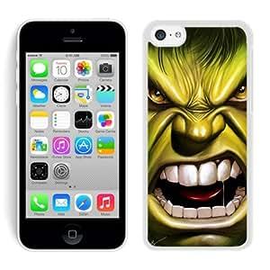 iPhone 5C Hulk White Screen Phone Case Charming and Nice Design