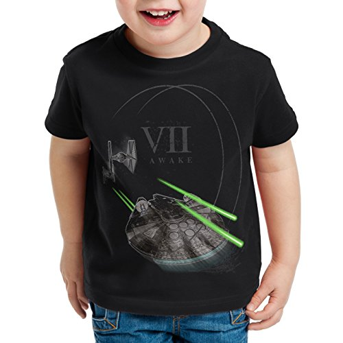 os Falcon para Camiseta Vii Millenium ni Hormiga Tie Awake SBgwxq