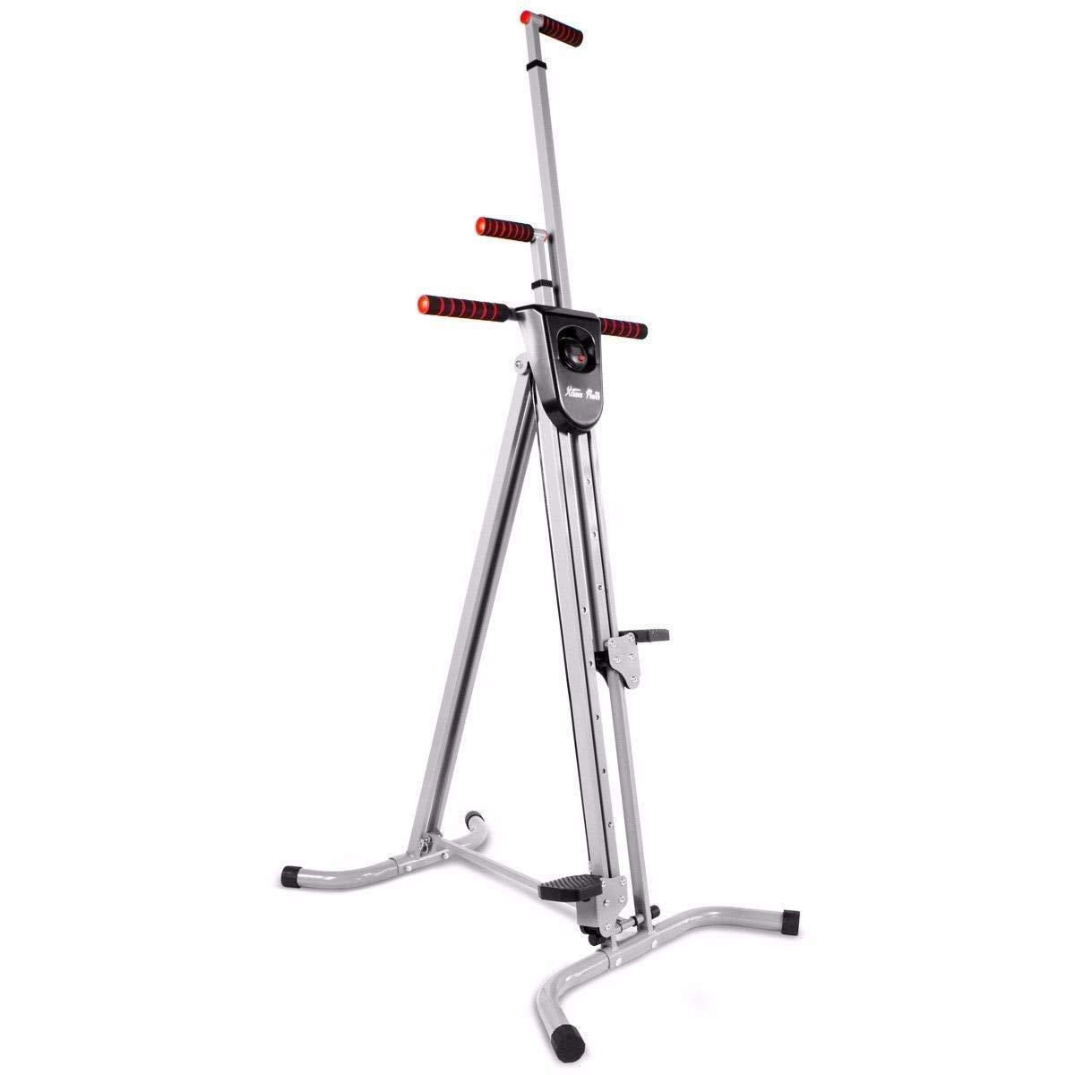 XtremepowerUS Vertical Climber Fitness Cardio Exercise Machine by XtremepowerUS (Image #2)