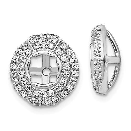 14K White Gold Diamond...