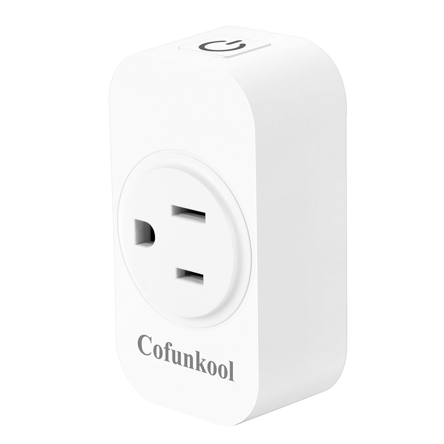 CofunKool Smart Plug WIFI Outlet Work with Alexa Echo Google Assistant Mini WIFI Plug Control Your Device form Anywhere No Hub Required