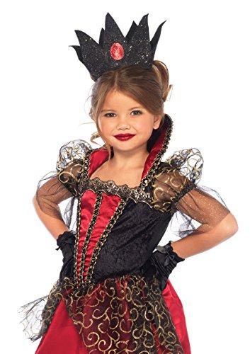 Leg Avenue Enchanted Deluxe Queen Costume (2 Piece), Red, (Enchanted Queen)