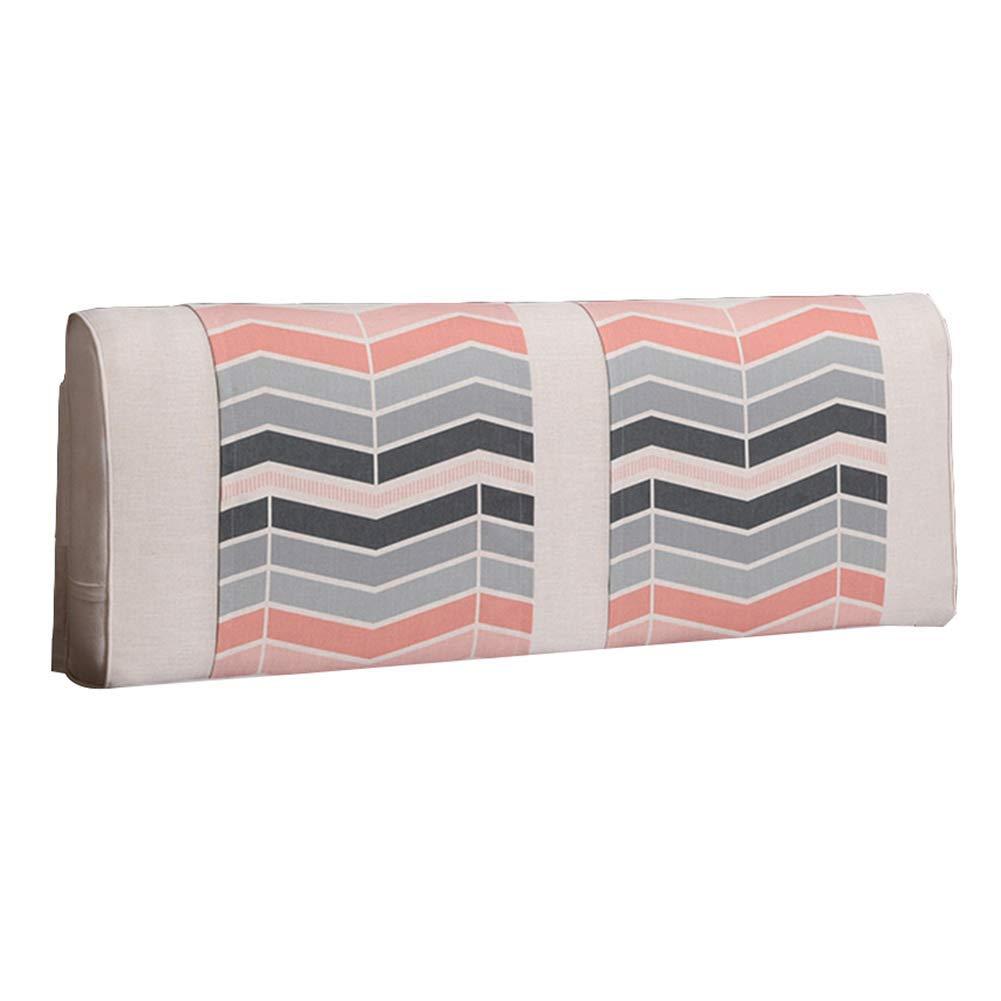 GLP ベッドサイドクッションノルディック風のベッドカバーダブル畳の大きなバックベッドソフトパックモダンなミニマル枕、8サイズ&6色 (Color : 6#-With headboard, Size : 180x10x58CM) B07RSZ288V