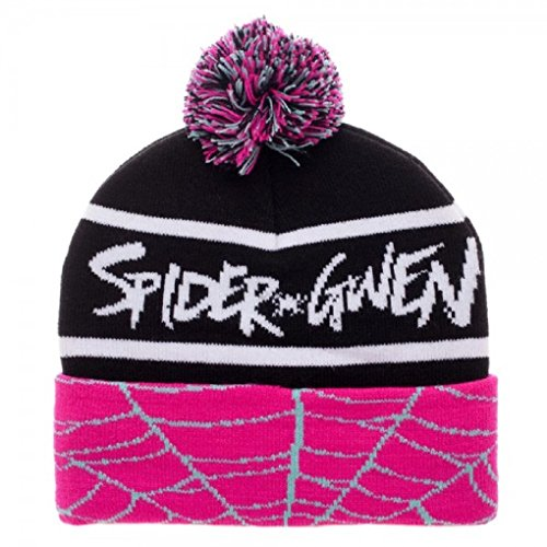Adult Size Marvel Comics Spider-Gwen Pom Beanie