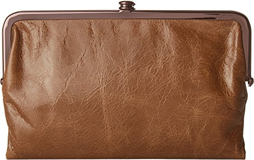(Hobo Womens Glory Vintage Leather Clutch Wallet (Mink))