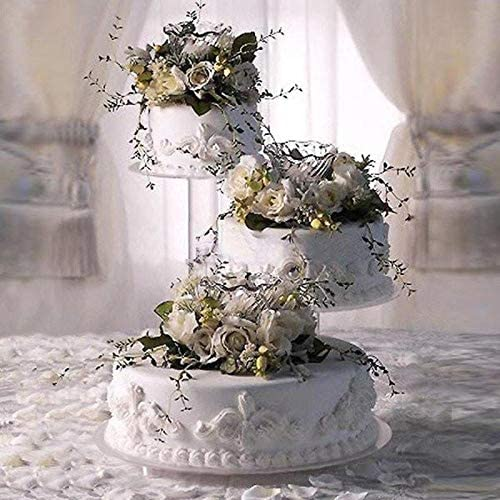 Amazon Com 3 Tier Acrylic Wedding Cake Stand Style R300 Cake Carriers Cake Stands