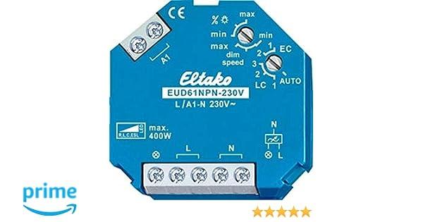 Eltako - Regulador luz Universal eud61npn-230v led: Amazon.es: Bricolaje y herramientas