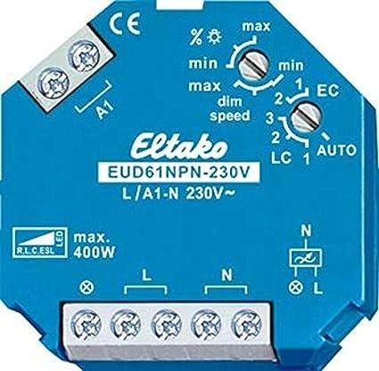 Eltako - Regulador luz Universal eud61npn-230v led