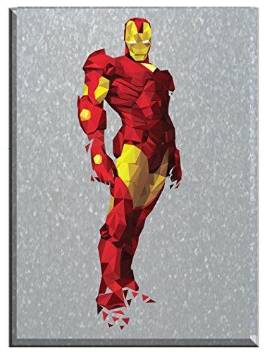 Edge Home Products Polygon Art Comics: Large Marvel Iron Man Galvanized steel Print Box Art, Iron Man Art - Superhero Wall Art, Avengers Metal Art, Ironman Wall Art, Vintage Comic Books, Gift (Vintage Comic Book Wall Art compare prices)