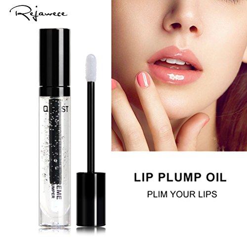 Plumping Lipstick (Lip Plumper Gloss by Rejawece - Lip Plumping Lipstick Treatment - Clear Lip Plump Gloss - Enhancer for Fuller & Hydrated Lips | Give Volume, Moisturize, Eliminate Dryness & Wrinkles)