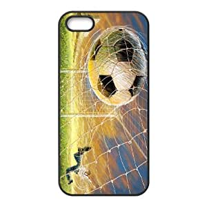 [H-DIY CASE] For Apple Iphone 5 5S -Love Football-CASE-15