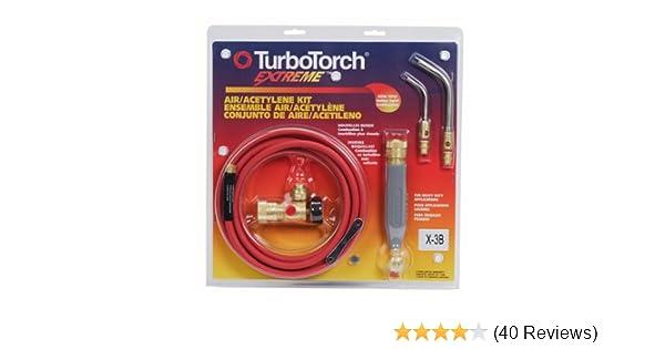 Air Acetylene TurboTorch 0386-0335 X-3B Standard Torch Kit