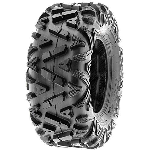 SunF Power.I 25 inch ATV UTV all-terrain Tires 25x8-12 & 25x11-12, 6 PR Front & Rear Set of 4 A033, Tubeless by SUNF (Image #8)