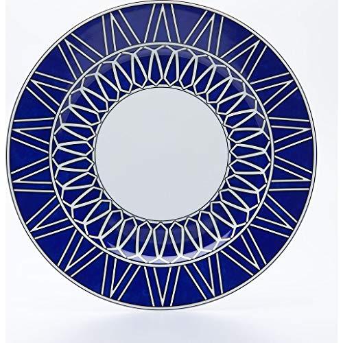 Royal Limoges Blue Star Dessert Plate