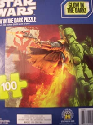 Star Wars Glow in the Dark 100 Piece Puzzle ~ Storm Trooper