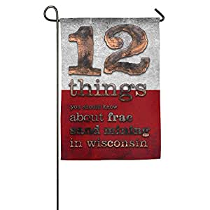 "Jacob Quotes 12 Things House Flag Garden Flag Indoor Flag (2 Sizes: 1218"", 1827"") 1827inch"