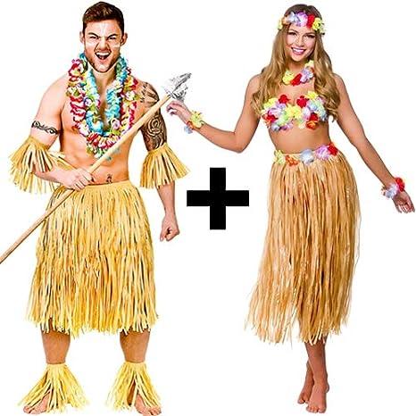 MFD Disfraz Hawaiano para Adultos: Amazon.es: Productos para mascotas