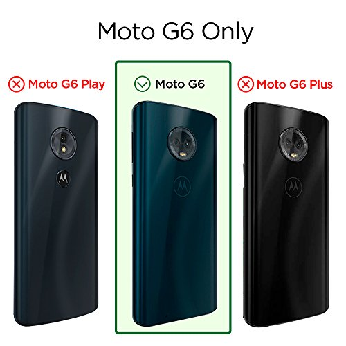 Spigen Rugged Armor Moto G6 Case Flexible Durable Shock Absorption Carbon Fiber Design Motorola Moto G6 (2018) - Black by Spigen (Image #5)