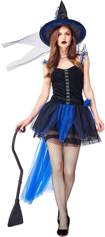 ASDF Disfraces de Fiesta de Halloween Encaje Falda de Bruja de ...