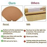 Numola 30 Pcs Parchment Paper Baking Sheets, 12x16