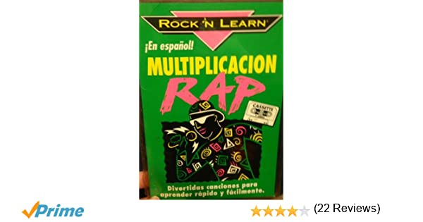 Multiplicación Rap en Español (in Spanish)