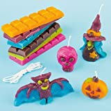 Halloween Candle Making Kit for Children to Make and Display - Per pack by Baker Ross