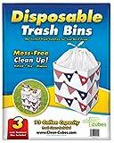 Clean Cubes 13 Gallon Disposable Trash Cans