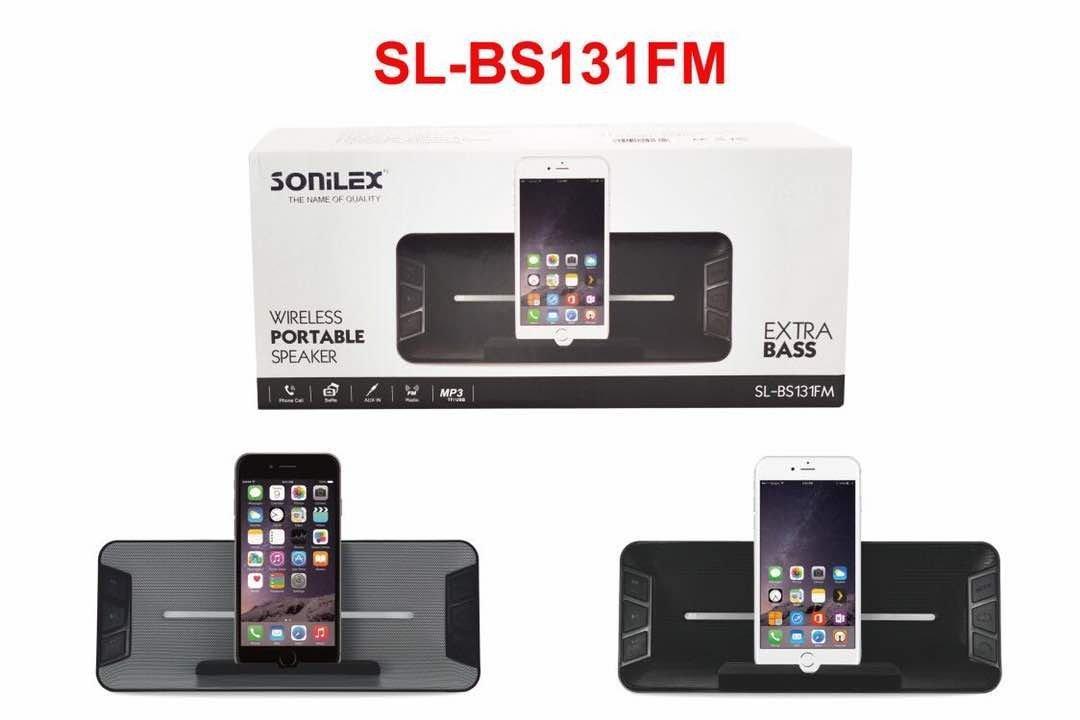 Sonilex BS-131 Portable Bluetooth Speaker