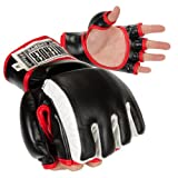 Best Contender Fight Sports Hand Wraps - Contender Fight Sports MMA Training Gloves (Large) Review
