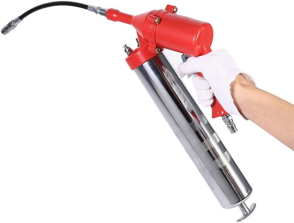 SANON Empuñadura de Pistola Pistola de Engrase de Aire Conjunto Compresor Neumático Neumático de Una Mano Engrase Lubricante 1200-6000 PSI