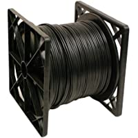 RG59 1000FT Siamese Coaxial Cable Black