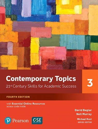 Contemporary Topics 3 W/Access
