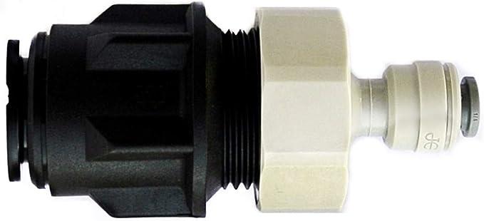 Adaptador de tubería, de15 mm a 0,64 cm, para filtro de agua de ...