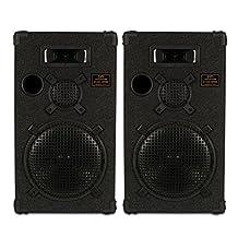 "Goldwood Sound DPI-1200C/8 Passive 12"" Speaker Pair 3-Way PA DJ Karaoke Home Audio"